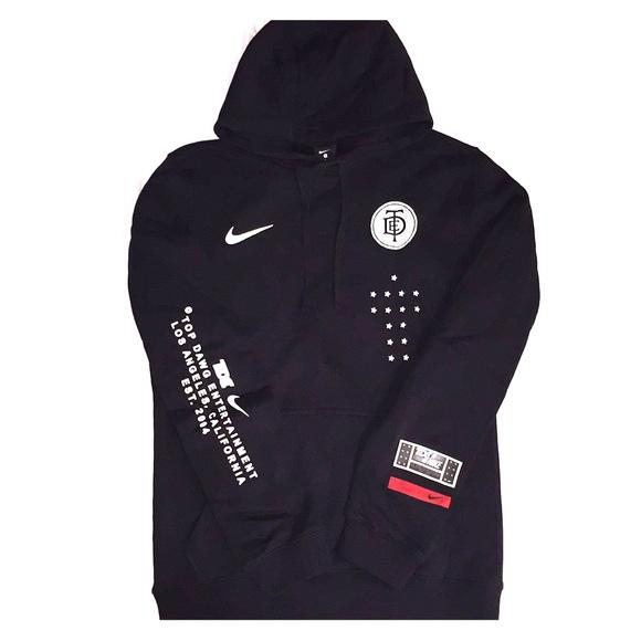 teatro Día masculino  Nike Shirts | Nike X Tde X Kendrick Lamar X Damn Hoodie | Poshmark